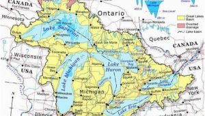 Great Lakes Map Of Canada Discover Canada with these 20 Maps In 2019 Ideas Great Lakes Map