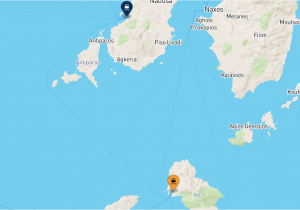 Greece to Italy Ferry Route Map Ios to Paros Ferry Compare the Best Tariffs with Netferry