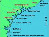 Gulf Coast Of Texas Map Karankawa Indians