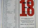 Gulf Mobile and Ohio Railroad Map Vintage 1962 Gulf Mobile and Ohio Railroad Employee Timetable