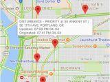 Halsey oregon Map Portland Incident Map Alerts by David Gross