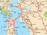 Harbor City California Map San Francisco Maps for Visitors Bay City Guide San Francisco