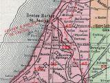 Harbor Springs Michigan Map Berrien County Michigan 1911 Map Rand Mcnally St Joseph