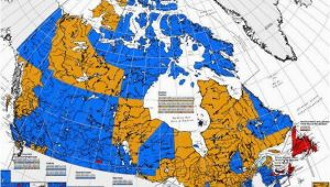 Hard Water Map Canada Canada Election Map before and after Canadians Voted