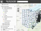 Harrison County Ohio Map Oil Gas Well Locator
