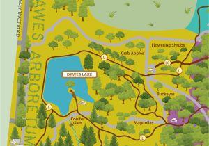 Heath Ohio Map Maps Of Our Grounds the Dawes Arboretum In Newark Ohio