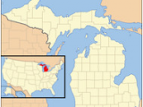 Hell Michigan Map 1955 In Michigan Wikipedia