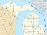 Hell Michigan Map Falls Lake State Recreation area Revolvy