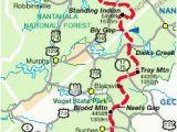 Hiawassee Georgia Map 14 Best Appalachian Trail Georgia Images Hiking Trails