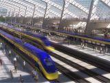 High Speed Train Map Europe Map Shows High Speed Rail S Sluggish Progress Curbed Sf