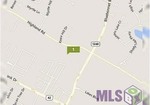 Highland Michigan Map 10354 Highland Rd Baton Rouge La 70810 Land for Sale and Real