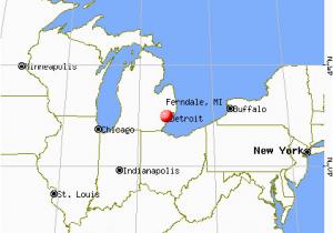 Highland Michigan Map Ferndale Michigan Mi 48220 Profile Population Maps Real Estate