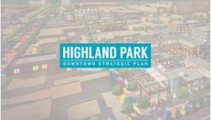 Highland Park Michigan Map Highland Park Downtown Strategic Plan by Mksk issuu