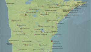 Highway 61 Map Minnesota Amazon Com Best Maps Ever Minnesota State Parks Map 11×14 Print
