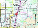 Highway 61 Minnesota Map Guide to Hinckley Minnesota
