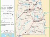 Highway Map Of Alabama Alabama Highway Map