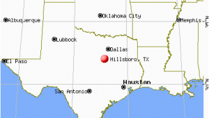 Hillsboro Texas Map Hillsboro Map