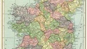 Historic Maps Ireland Ireland Map Vintage Map Download Antique Map C S Hammond
