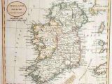 Historical Maps Ireland Map Of Ireland In 1800 Russell Maps Map Historical