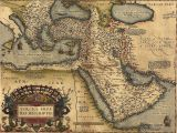 Historical Maps Of Canada the Ottoman Empire From Abraham ortelius atlas 1570 Everett