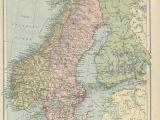 Historical Maps Of England Historical Maps Of Scandinavia
