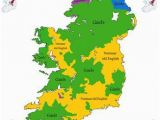 Historical Maps Of Ireland 16th Century Ethnicity Map Of Ireland Ireland 1500s Map