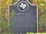 Historical Markers In Texas Map Liberty City Texas