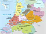 Holland Map In Europe Map Of the Netherlands Including the Special Municipalities
