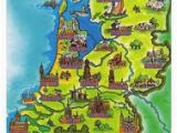 Holland Map Of Europe Netherlands tourist Map Google Search Europe In 2019