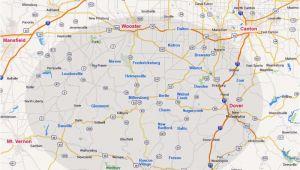 Holmes County Ohio Map Map Holmes County Ohio Secretmuseum