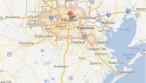 Houston Texas Map and Surrounding areas Texas Maps tour Texas