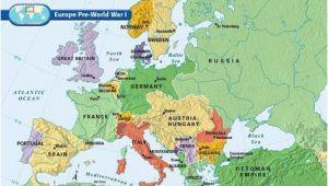 How Did Ww1 Change the Map Of Europe Europe Pre World War I L O O K World War I World War