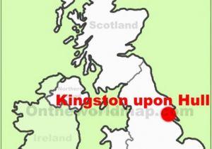 Hull Map England Map Of Uk Hull