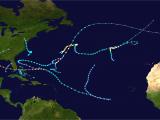 Hurricane Frances Tracking Map 1992 atlantic Hurricane Season Wikipedia