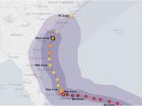 Hurricane Frances Tracking Map Hurricane Dorian Updates Category 3 Storm Rakes the