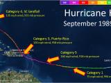Hurricane Frances Tracking Map Hurricane Hugo