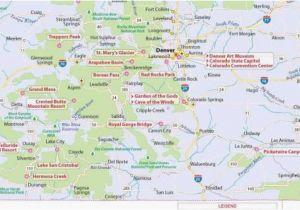 I 70 Colorado Map Colorado Lakes Map Maps Directions