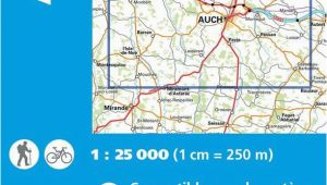 Ign Maps Of France Ign 1843 Auch Barran Frankreich Wanderkarte 1 25 000