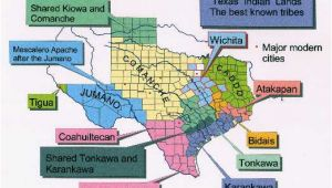 Indian Reservations Texas Map Map Of Texas Indians Business Ideas 2013