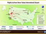 International Airports In California Map Flight Info Non Stop Destinations Reno Tahoe International Airport