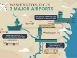 International Airports In Canada Map A Guide to Airports Near Washington D C
