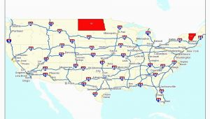 Interstate Map Of Ohio Map Of the United States Highways Valid Map Interstate Highways In