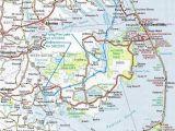 Intracoastal Waterway north Carolina Map Intercoastal Waterway Map National Doppler Radar Map