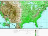 Ireland Elevation Map Elevation Map oregon Us topographic Map with Highways Awesome Us