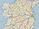 Ireland Highway Map Ireland Road Map