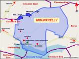 Ireland Lakes Map Mountkelly
