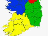 Ireland Map by County Counties Of the Republic Of Ireland