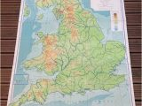 Ireland Physical Map England and Wales Physical Map Philips by Wafflesandsprout