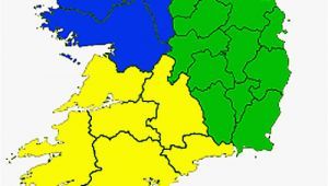 Ireland Province Map Counties Of the Republic Of Ireland