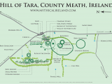 Ireland Stone Circles Map Mythical Ireland Ancient Sites the Hill Of Tara Teamhair